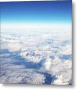 Clouds Over Ireland Metal Print