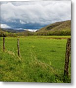 Clouds Over The Hills Metal Print