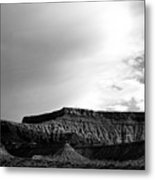 Clouds  Over The Mesa Metal Print
