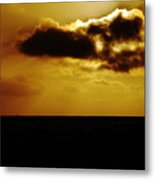 Clouds Over The Ocean Metal Print