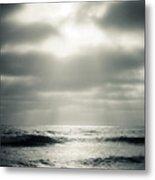 Clouds Over The Ocean Metal Print