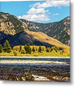 Clouds Over The Teton Foothills Metal Print