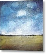Flying Clouds Metal Print