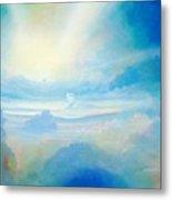 Cloud's Sea Metal Print