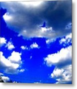 Clouds Study  1 Metal Print