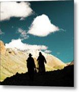 Clouds Way Kailas Kora Himalayas Tibet Yantra.lv Metal Print