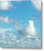 Cloudscape A Fine Day Metal Print
