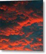 Cloudscape A1 Metal Print