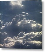Cloudscape And River Metal Print