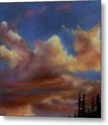 Cloudscape Lv Metal Print