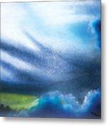 Cloudy Skies Metal Print