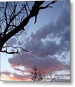 Cloudy Sunset Two Metal Print