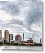 Glass Cloud Metal Print