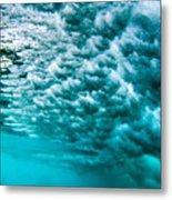 Cloudy Water Metal Print
