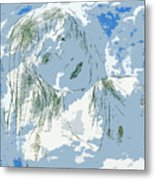 Cloudy With Whimsy Metal Print