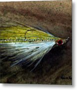 Clouser Minnow Metal Print