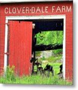 Clover Dale Farm Metal Print