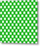 Clover Titled  - Pattern Metal Print
