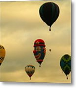Clown Balloon Metal Print
