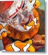 Clown Fish Metal Print