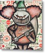 Clown Nightmare Metal Print