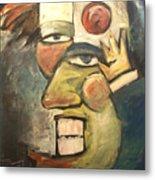 Clown Painting Metal Print