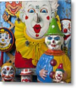 Clown Toys Metal Print by Garry Gay