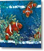 Clowning Around - Clownfish Metal Print