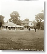Club House And Golf Links, Old Del Monte, Monterey, California Circa 1920 Metal Print