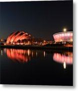 Clyde Twilight Reflections Metal Print