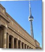 Cn Tower Toronto Metal Print