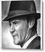 Coach Tom Landry Metal Print