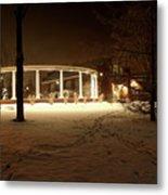 Coady International Institute Winter Night Nova Scotia Metal Print