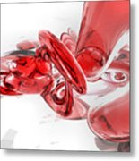 Coagulation Abstract Metal Print