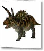 Coahuilaceratops Profile Metal Print