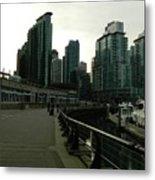 Coal Harbour Vancouver Metal Print