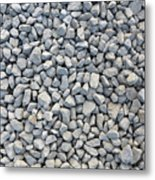 Coarse Gravel Metal Print