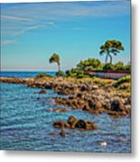 Coast At Antibes France Dsc02221 Metal Print