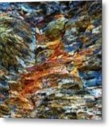 Coast - Color Of Rock Metal Print