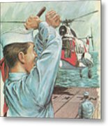 Coast Guard Career Metal Print