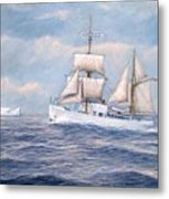 Coast Guard Cutter Northland Metal Print