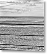 Coast - Horizon Lines Metal Print