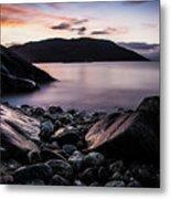 Coast Of Norway Metal Print