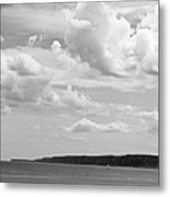 Coast - The Lonely Boat Metal Print