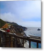 Coastal Beauty Metal Print