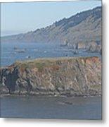 Coastal Butte Metal Print