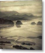 Coastal Dawn Metal Print