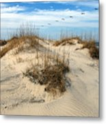 Coastal Formation Metal Print