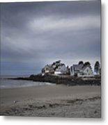 Coastal Homes Kennebunkport  Metal Print