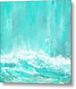 Coastal Inspired Art Metal Print